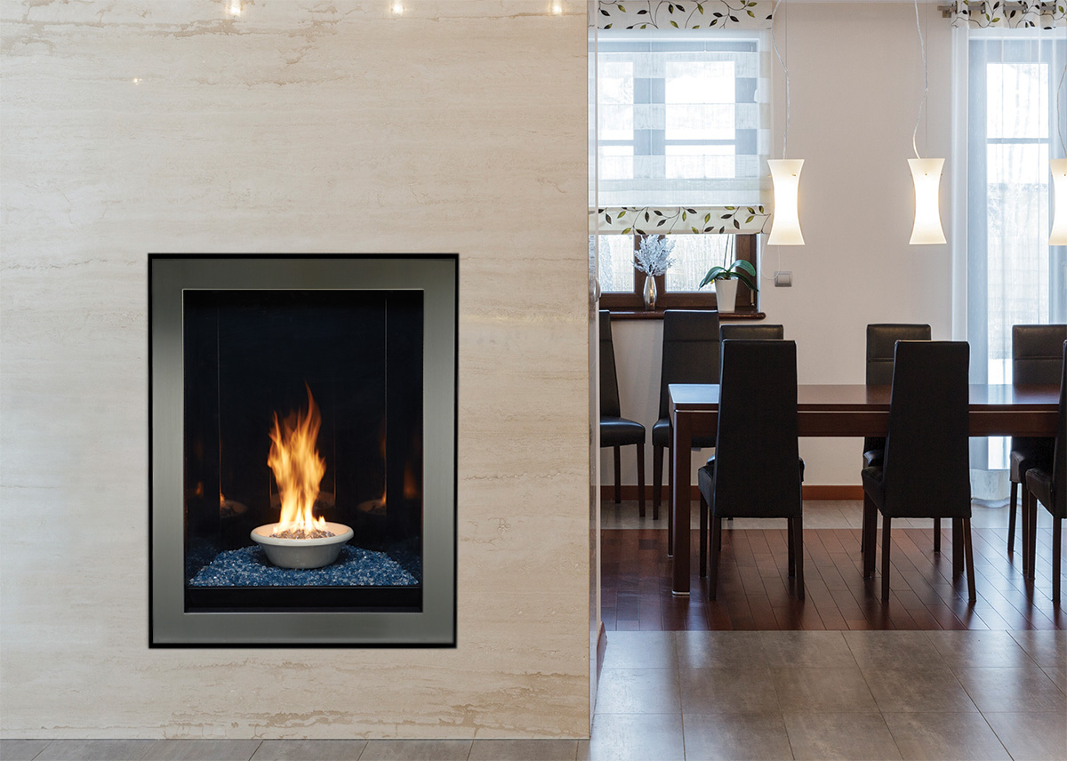 Portrait Style Fireplaces Direct Vent American Hearth