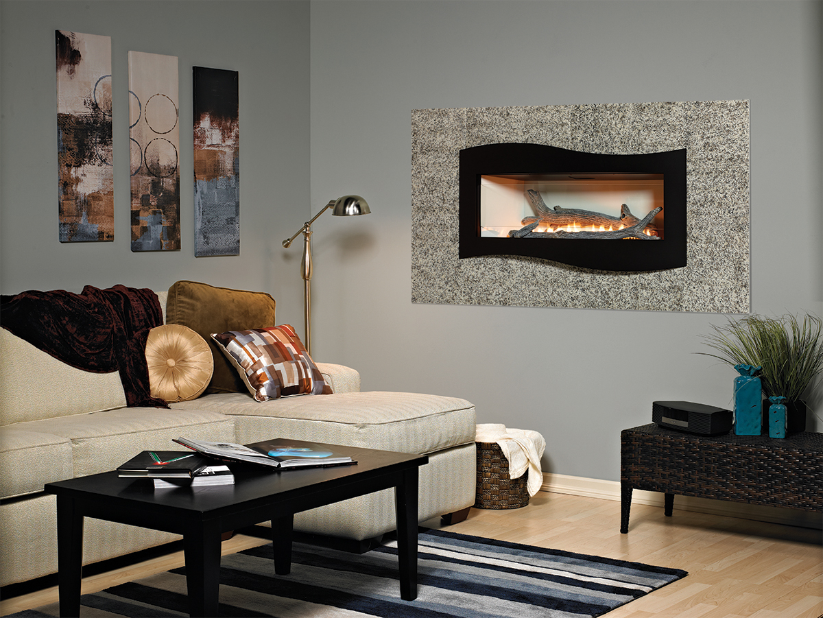 empire comfort boulevard vent free gas fireplace single sided or