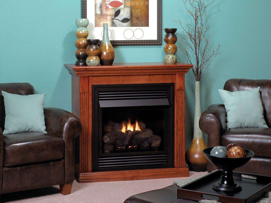 lincoln fireplaces vent free american hearth