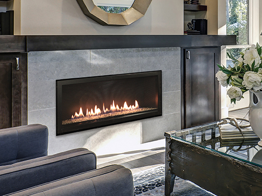 Empire Boulevard 48 Inch Vent-Free Linear Gas Fireplace